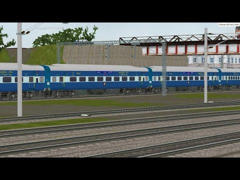 MSTS Indian Railways Howrah JN. extended till Mughalsarai JN.