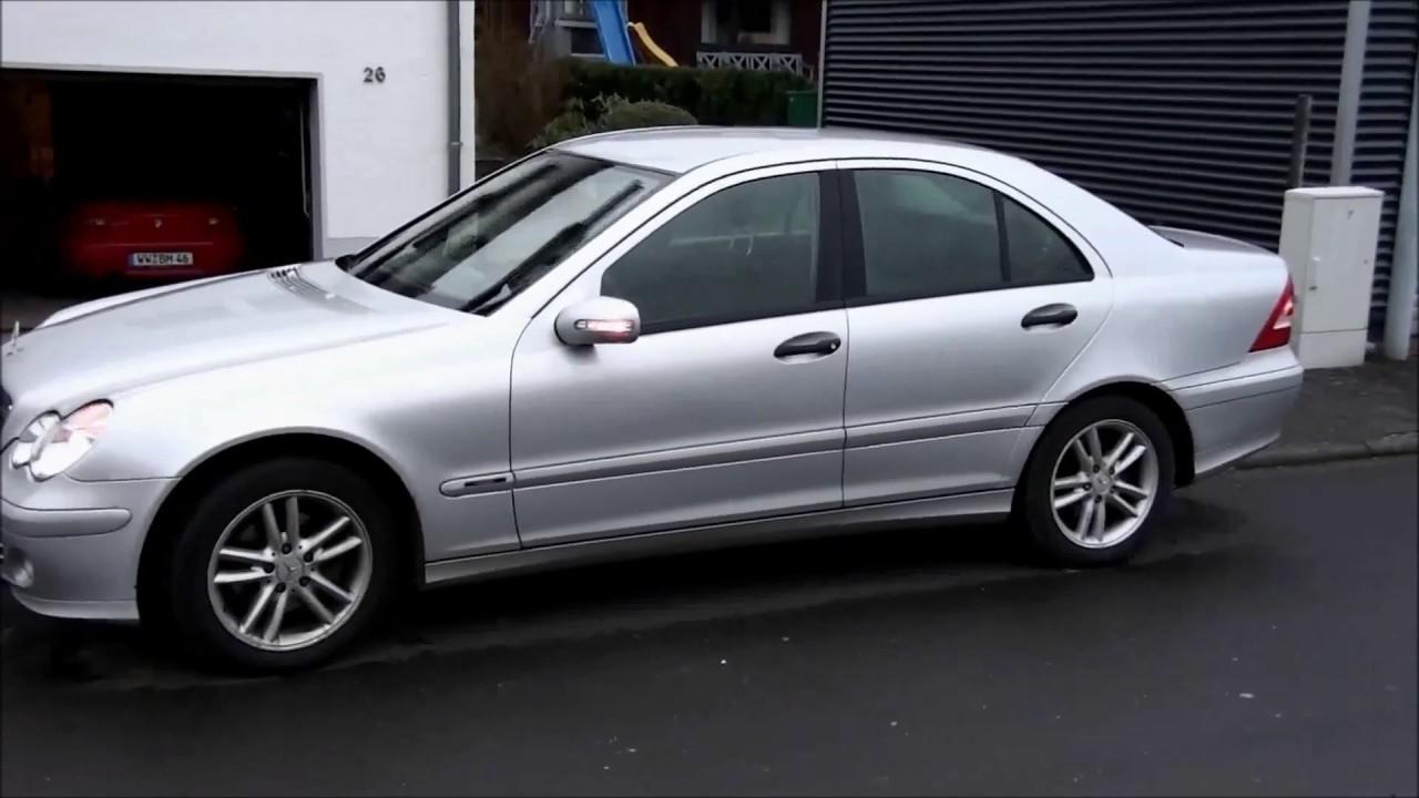Mercedes W203 / S203 -- Spiegelblinker austauschen / reparieren ...