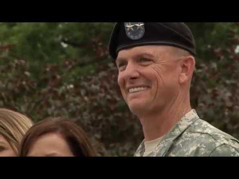 Big Red One Conducts Change of Command