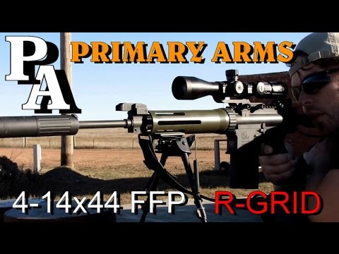 Primary Arms 4-14x44 FFP R-Grid ~ FULL ANALYSIS ~ Rex Reviews (1080HD)