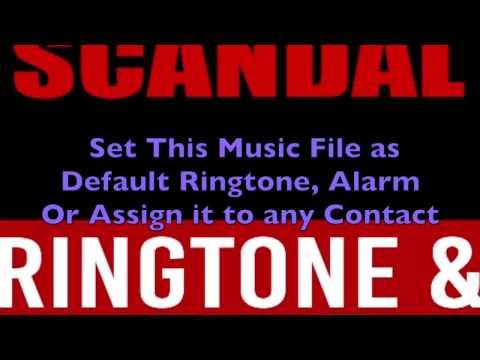 Scandal Main Theme Ringtone and Alert