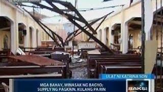 Saksi: Quinapondan Eastern Samar, napasok na ng GMA News