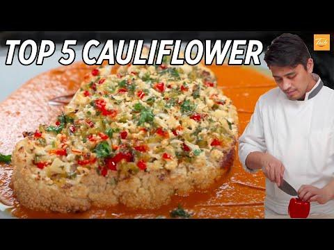 Top 5 Cauliflower Recipes By Chef Bao | Cauliflower Side Dish • Taste Show