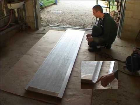 Installation d 39 une porte de garage sectionnelle 1 2 youtube - Montage d une porte de garage sectionnelle motorisee ...