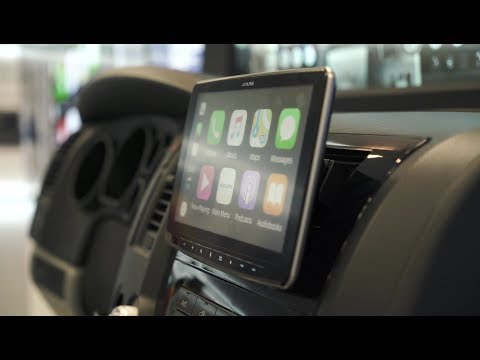 Alpine ILX-F309 Halo9 9-inch Receiver With CarPlay And Android Auto | Crutchfield Video