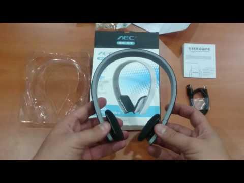 Dronebey l AEC BQ618 Smart Bluetooth 4.0 Headset Wireless Headphone Earphone