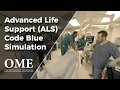 Advanced Life Support / Code Blue - How to lead a cardiac arrest (ALS/ACLS simulation)