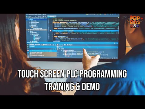 Touch Screen PLC Programming Training & Demo