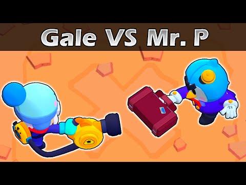 GALE Vs MR. P | 1vs1 | 23 Test | Brawl Stars