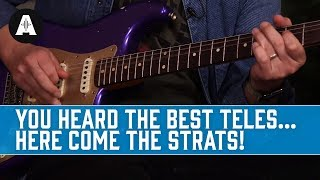 You Heard The Best Teles - Now Here Come the Strats! Video