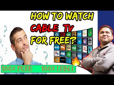 How To Watch CABLE TV For Free in INDIA | 100%Free 100%Legal 100%Working 🔥😇