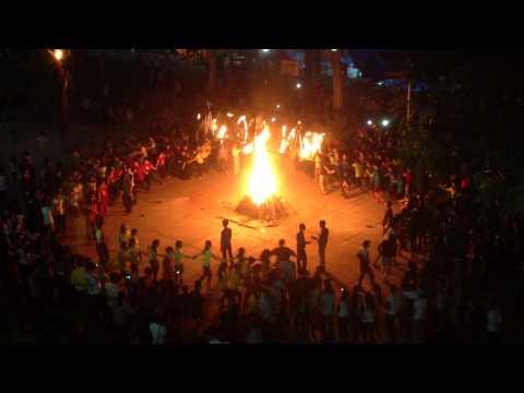 Trường THPT Trần Quốc Toản- Đồng Tháp- Đốt lửa trại 2/10/2015