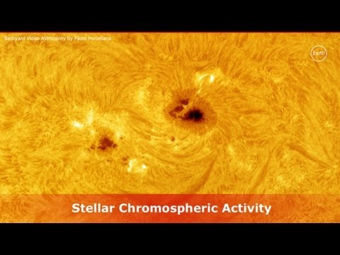 Stellar Chromospheric Flares Activity through a solar filter