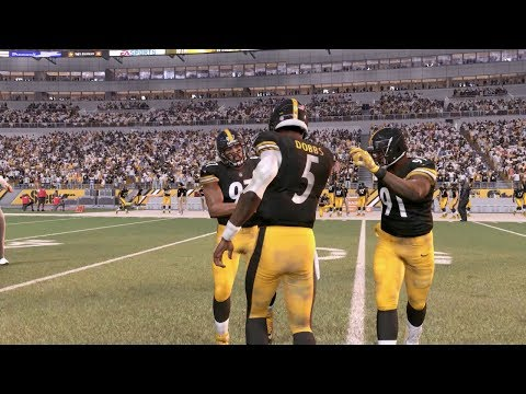 2017 Steelers Draft Class Franchise Ep.6 | Giants at Steelers | Madden NFL 18 Preview
