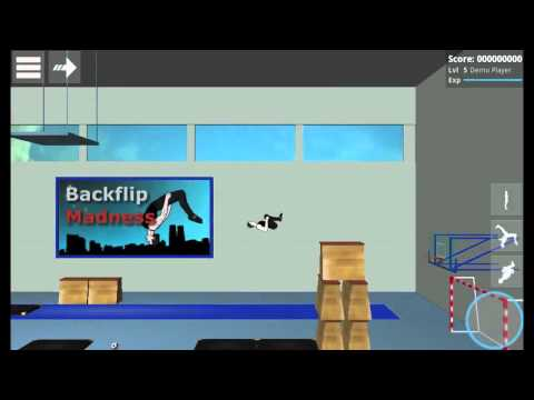 Backflip Madness - Раннер с элементами сальто