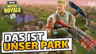Das ist unser Park - ♠ Fortnite Battle Royale ♠ - Deutsch German - Dhalucard