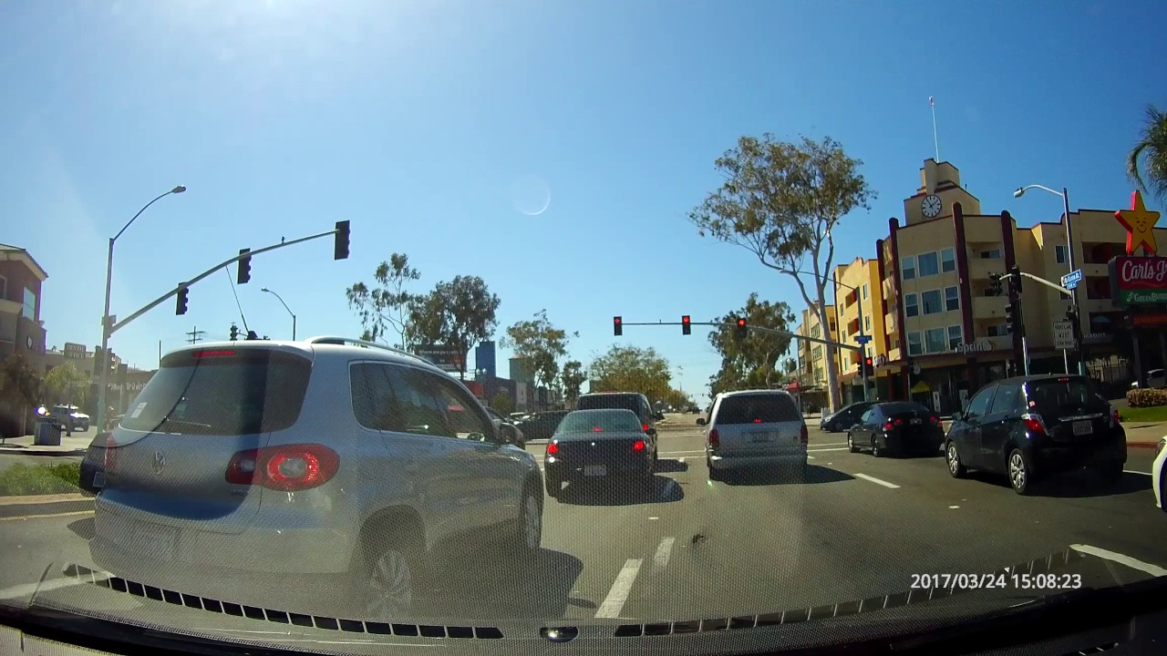 03 24 2017 Motorcycle Accident San Diego California