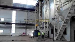 Кран мостовой опорный двухбалочный - испытание(ООО ПКФ