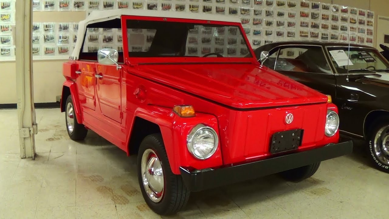 1974 Volkswagen Thing Rare And Nicely Restored Vw Type