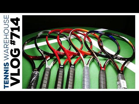 RARE Yonex Pro Stock Tennis Racquets (from Hewitt, Seles & More) -- VLOG #714