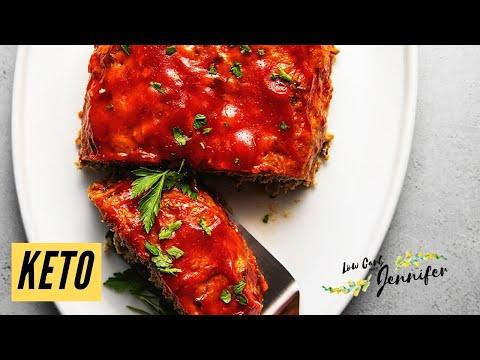 Keto Turkey Meatloaf   Keto Recipes