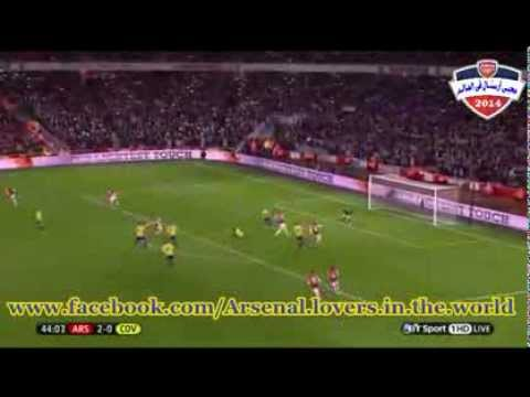 Arsenal vs Coventry 4-0 All Goals & Highlights (21/01/2014)