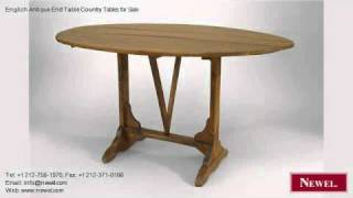 English Antique End Table Country Tables For Sale