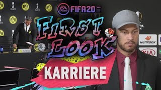 FIFA20 ● FIRST LOOK - KARRIEREMODUS