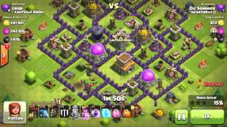 Ataque que me rendeu a liga mestre!!Clash of Clans
