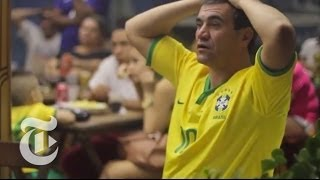 Brazilians Confront Defeat | FIFA World Cup 2014 | The New York Times