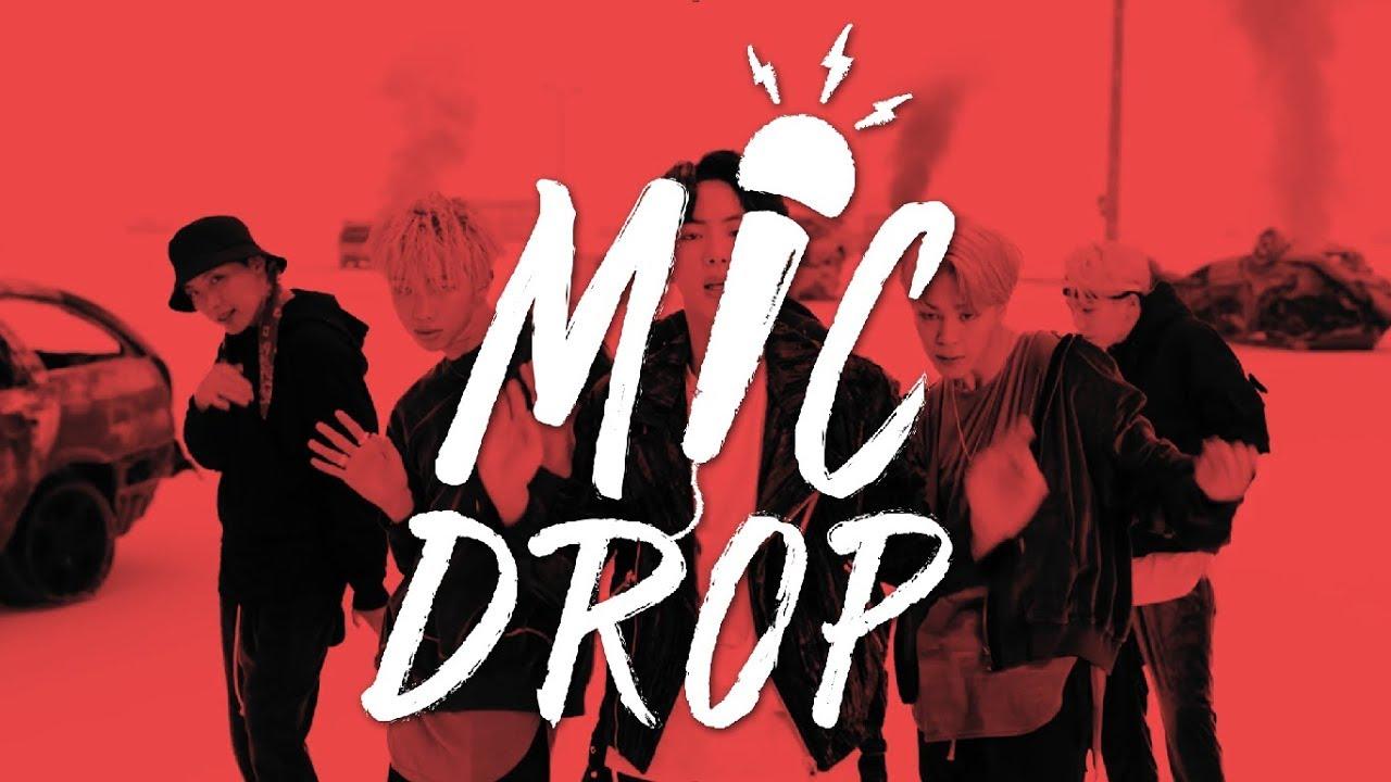 Bts 방탄소년단 Mic Drop Steve Aoki Remix Lyrics Han Rom Eng