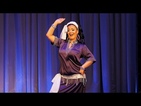 "ANNA BORISOVA - Egyptian BALADI ""Elestwana"" 2018"