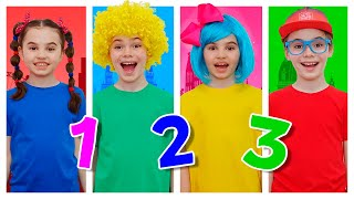 Numbers Song   Learn to Count from 1 to 10 for Kids   Nick and Poli - Nursery Rhymes & Kids Songs