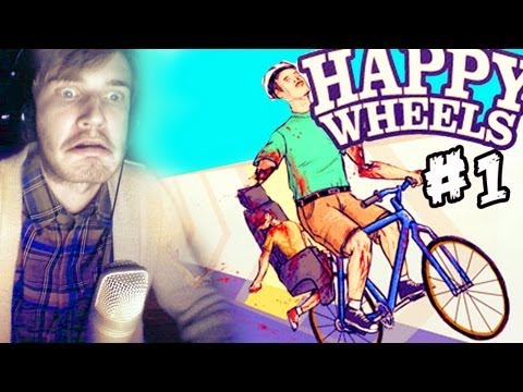 Thumbnail: Happy Wheels - Part 1 - PewDiePie Lets Play