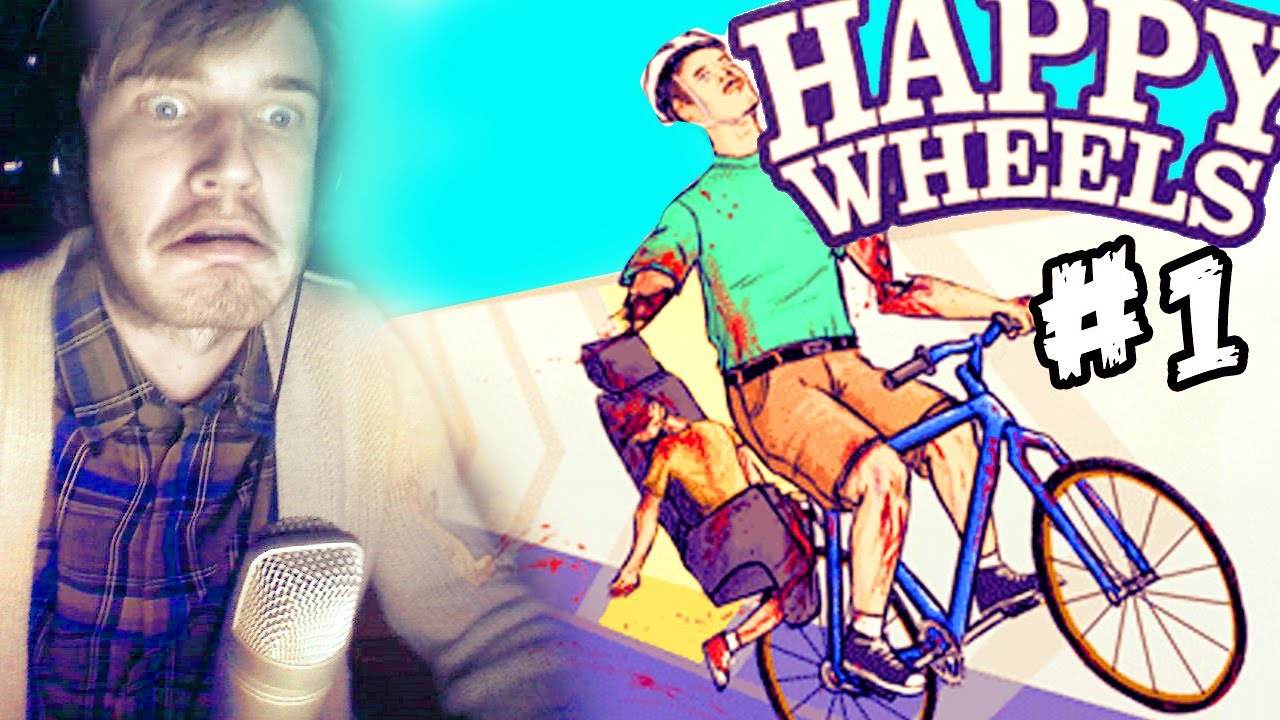 Happy wheels part 1 pewdiepie lets play youtube - Let s play happy wheels ...