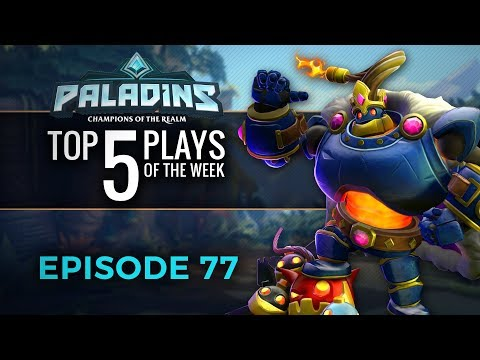 Paladins - Top 5 Plays #77