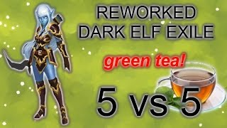 Heroes of Order and Chaos: Reworked Elf gameplay, with green tea!