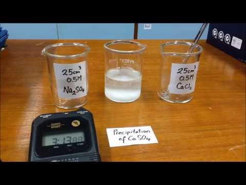 Preparation of Calcium Sulphate