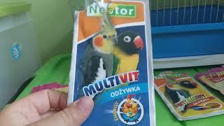 Witaminy dla papug#1
