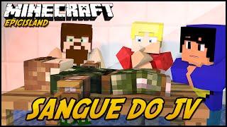Minecraft:SANGUE DO JV! EPIC ISLAND (Feat. TazerCraft JVNQ)