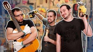 Apoio ninja para violão ft. MARCOS CASTRO e MATHEUS CASTRO - CASTRO BROTHERS 🔵Manual do Mundo