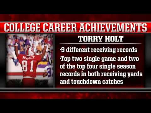 Torry Holt - NC State Hall of Fame