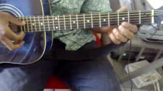 Clannad ending - Dango Daikazoku on guitar