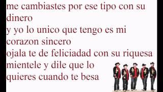 Mentirosa-Los Buchones de Culiacan[[2012]]..con letraa  . Espinoza Paz