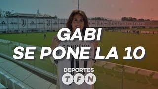 Emotivo HOMENAJE a Gabriela Sabatina por parte de la JUVENTUS - Deportes en #TFN