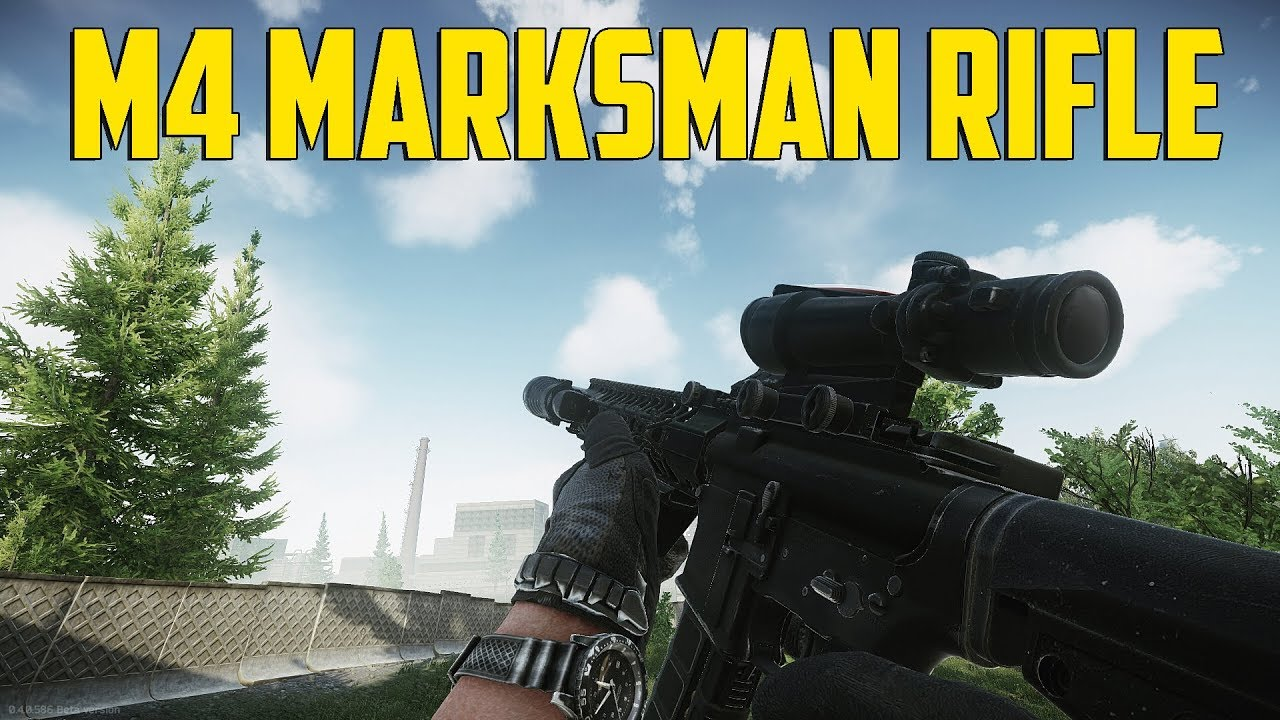 Escape From Tarkov - M4 Marksman Rifle