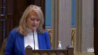 Sen. Theis speaks in support of Senate Resolution 8