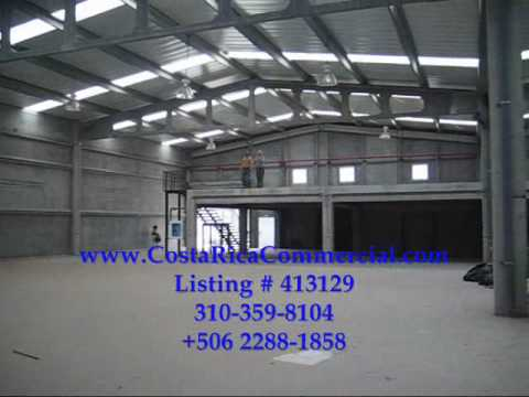 Costa Rica Commercial AAA warehouse space for rent in Santa Ana, Costa Rica
