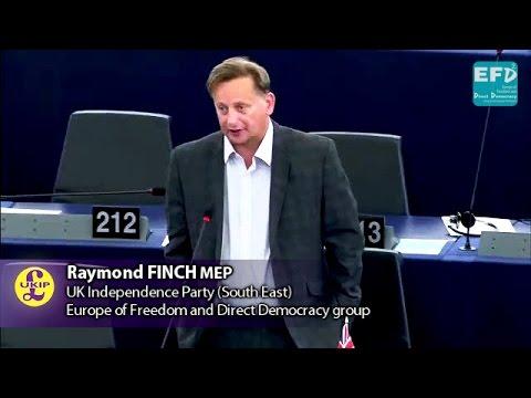 EU bribing and enabling a totalitarian regime in Turkey - Raymond Finch MEP