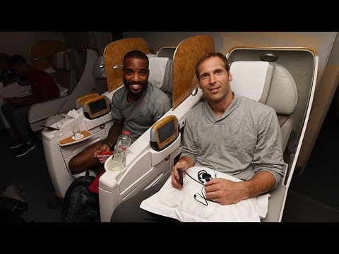Arsenal fly out to Sydney | Arsenal Tour 2017